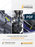 InventorCAM 2014 Sim.5-Axis User Guide