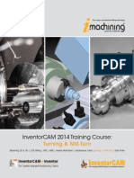 InventorCAM 2014 Turning Mill-Turn Training Course