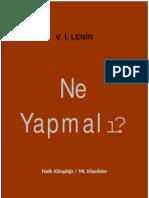 Lenin Ne Yapmali