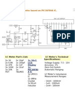 Very Accurate LC Meter Based on PIC16F84A IC
