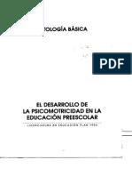 El Desarrollo de La Psicomotricidad en La Educ Preescolar_ANT BASICA (1)