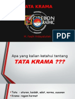 Tata Krama (Upgrading)