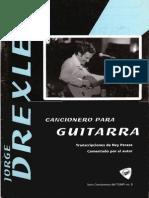 Cancioneros Del TUMP - Nº 8, Jorge Drexler