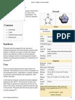 Tetrazole - Wikipedia, The Free Encyclopedia