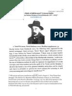Radicals, Rebels, & Rabblerousers; 3 Unusual Rabbis #3 - R. Menachem Nachum Friedman of Itscan (1)