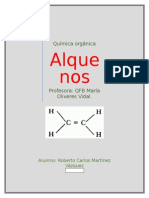 Química alquenos