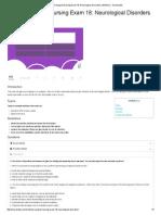 Medical-Surgical Nursing Exam 18_ Neurological Disorders (34 Items) - Nurseslabs
