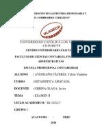 Examen Estadistica Aplicada_2014