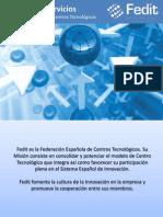 Catálogo de Servicios Fedit