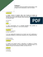 Cuestionario Del Bloque I