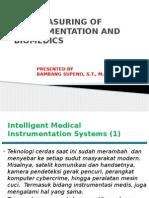 Instrumentasi Biomedika Minggu 01