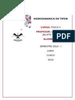 Hidrodinamica - Fisica 2 - Tipon