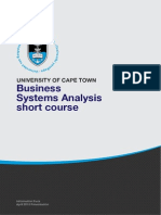 business analyses course