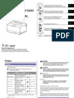 LBP 3500 Manual