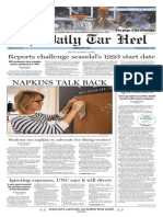 The Daily Tar Heel for March 4, 2015