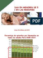 Etapa de Vida Niño 2015