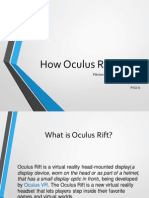 How Oculus Rift Works