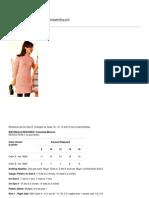 Knitting Patterns - Roseau Dress