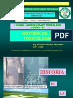 2. Historia DE LA TOXICOLOGIA AMBIENTAL