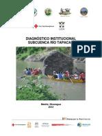 Diagnóstico Institucional, subcuenca del Río Tapacalí, Nicaragua