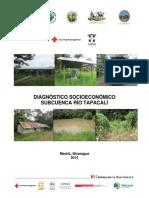 Diagnóstico Socioeconómico, subcuenca del Río Tapacalí, Nicaragua