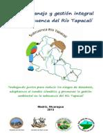 Plan de manejo y gestión de la subcuenca del Río Tapacalí, Madriz, Nicaragua - versión popular