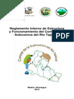 Reglamento comité Tapacalí, subcuenca del Río Tapacalí, Madriz, Nicaragua