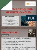 Isquemia Mesenterica Agu