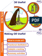 Making Useful Oil From Crude Oil