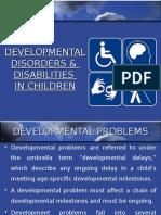 Developmental Disorders presentation