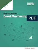 Eloqua Guide Lead Nurturing