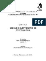 Examen - Epistemología II