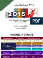 Presentasi Outlook 2015-ESDM