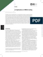 2 BRCA Testing