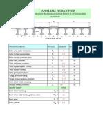 Contoh Perhitungan Struktur Jembatan