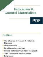 g New Historicism Cultural Materialism (1)