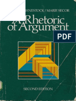 A Rhetoric of Argument