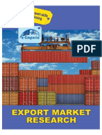 Export Market- Research