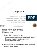 Research Methods for buisness - Ch03