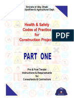 ADH Municipality - Health & Safety Codes of Practice for Construction Projects - Part 1