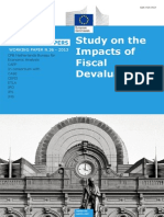 Impact of Fiscal Devaluation
