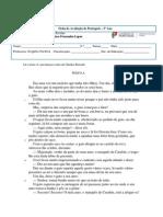 2º- Teste de Português- 2º Período-imprimir
