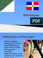 Merengue Presentation