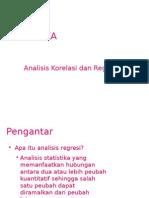 7-Analisis Regresi Dan Korelasi