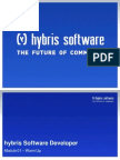 Hybris Software Developer - Module 01 - Warm Up-libre