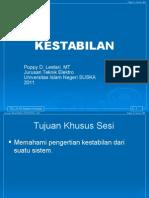 Tel-2419 Sistem-kendali 56 Kestabilan