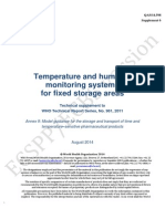 Supplement 6 TS Temp Monitoring ECSPP ECBS