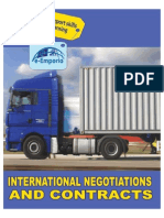 International Negotiations and Contracts