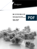 Danby 0.7 Cu. Ft. Countertop Microwave Oven - Designer DMW077BLSDD - Black & Stainless Steel - Manual