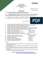 FIPB Agenda